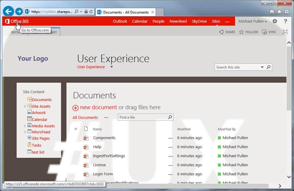 Sharepoint Office365 Logo