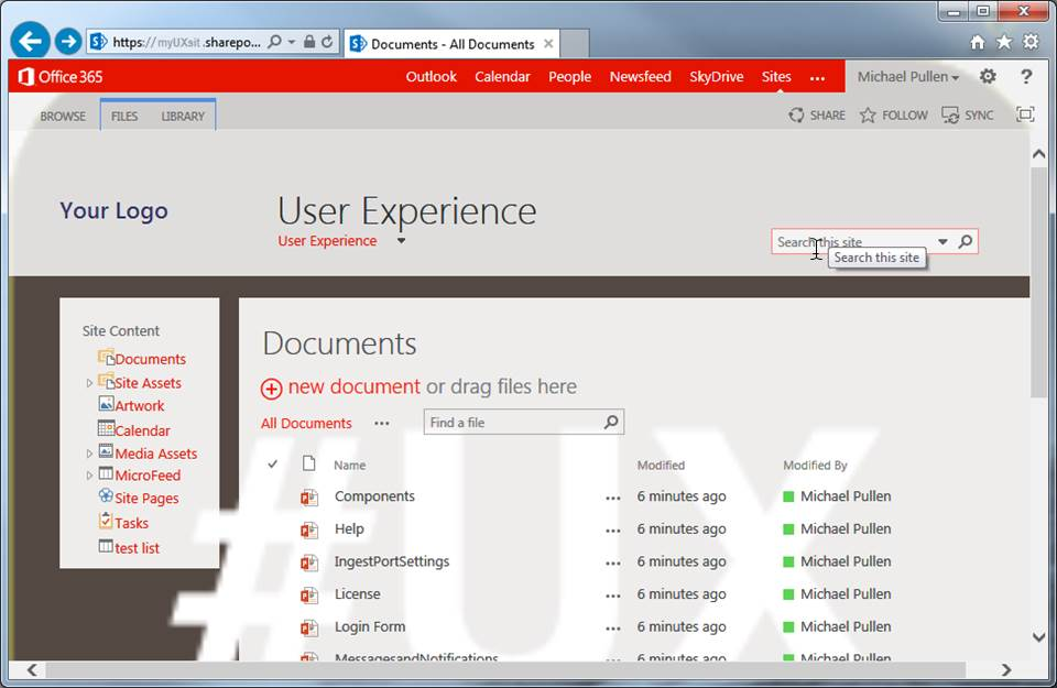 Sharepoint Searchbox