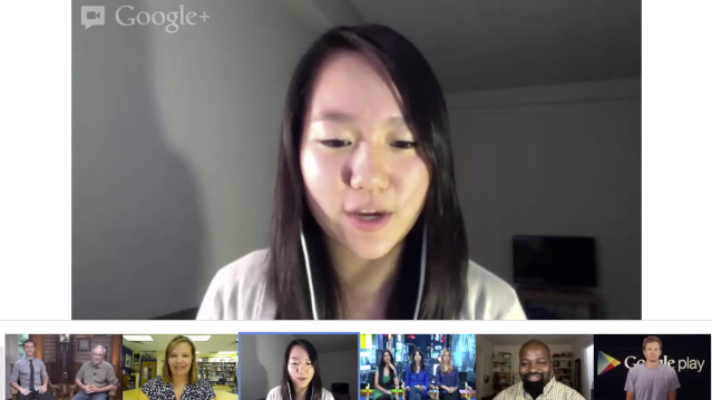 Google HangOuts Selected-video
